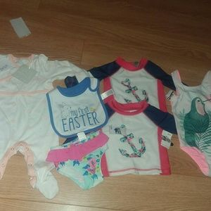 🎀baby girl lot new with tags🎀